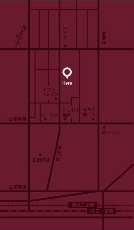 VINSEMBLE(ヴァンサンブル)の地図