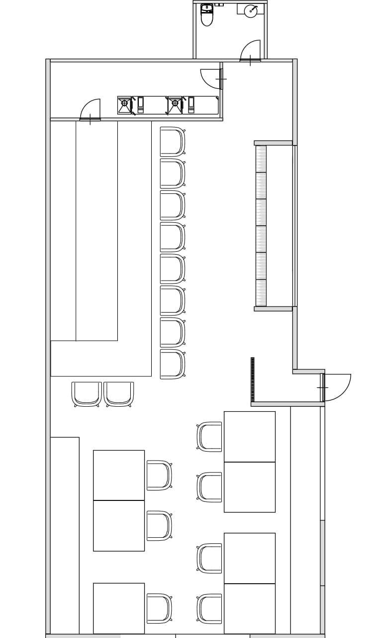 VINSEMBLE(ヴァンサンブル)の座席 シートプラン