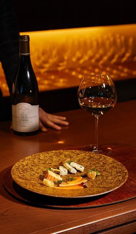 VINSEMBLE(ヴァンサンブル)のお料理とグラスワイン